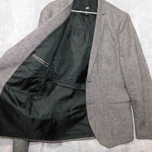 H&M Mens Suit Jacket Blazer 42 R Mint